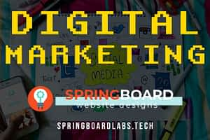 Digital Marketing Guide by Springboard Website Designs in Meridian Idaho