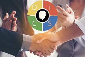 business deal completed because the businessman improved customer service skills to know what his customer wanted by knowing his disc personality testing style